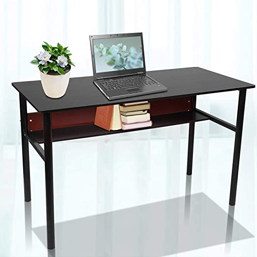 Escritorio para ordenador, 2 pisos, estación de trabajo móvil ...