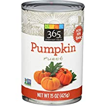 365 Everyday Value Canned Pumpkin, 13 oz