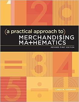 Book A Practical Approach to Merchandising Mathematics