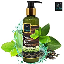 The EnQ Organic Green Tea Face Wash Natural Skin Toner Rich in Anti Oxidants For All Skin Types SLS Free and Paraben…