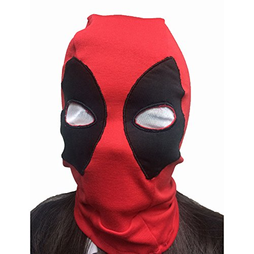 Rulercosplay Deadpool Game Cosplay Mask, Belts and Sword Belt (Mask-C New)