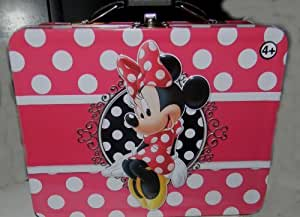 Amazon.com: minnie mouse pink polka dots metal lunch box