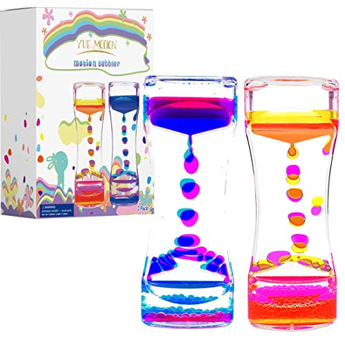 My kids LOVE this lava lamp-looking, neat sensory toy!