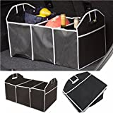 Car Boot Organiser Shopping Tidy Heavy Duty Collapsible Foldable Storage Car-styling