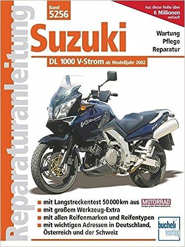 Reparaturanleitungen Suzuki 1000 V-Strom