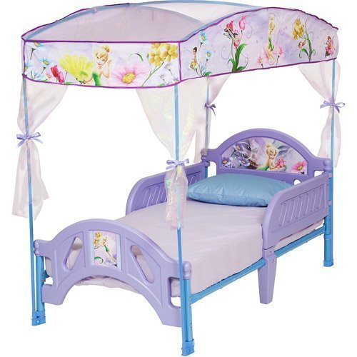 Disney Tinkerbell Fairies Toddler Bed with ()