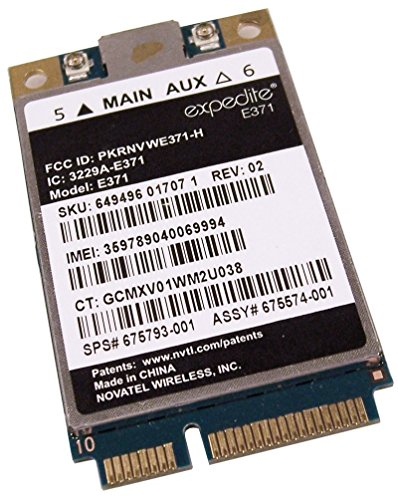 LT 2523/E371 LET/HSPA+ 3G/4G Mobile broadband minicard Module Compatible for HP 2170p 9470m 8570p 8470p 8470w 8570w SPS…