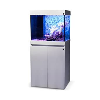 Haquoss LED Dream 60, Acuario completo con soporte, lámpara LED, Sump y accesorios