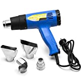 Biltek Heat Gun Kit w/Accessories 1500 Watt Dual Temperature Shrink Wrapping 752-1022F