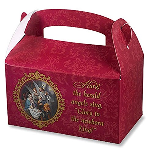 Christmas Nativity Treat Box with Prayer, Pack of 36