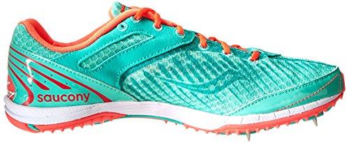 Coral XC5 Country Kilkenny Saucony Aqua Women's Spike Spike Vizi Cross Shoe XFEv1q1a