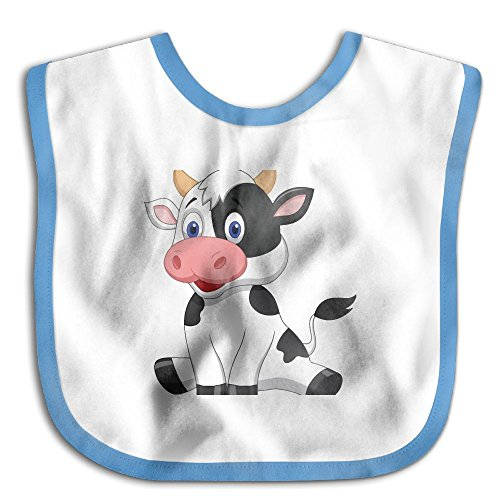 Cute Baby Cow Infant Toddler Bibs Adjustable Snaps Cute Design Baby Bib Funny Baby Shower - Gift