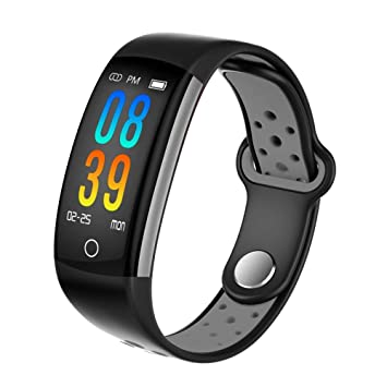 ZLOPV Pulsera 2019 Smartwatch Q6 Heart Rate Monitor ...