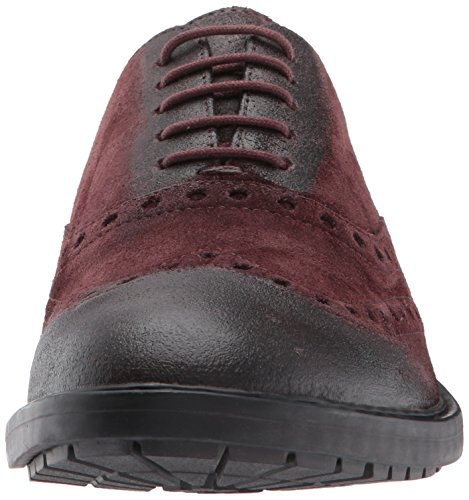 KAPSIAN A Burgundy U Geox Dark Men's Shoes Sgq7xTF