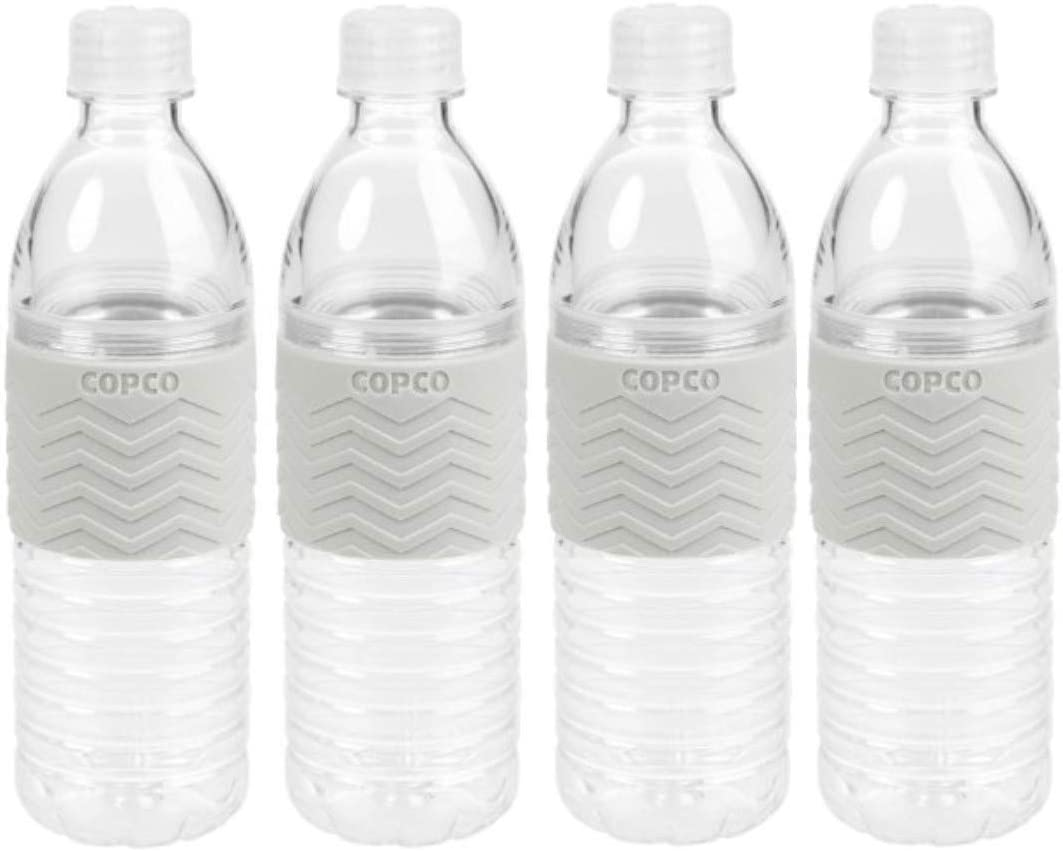 Blue Gray Reusable 16.9 Oz Pack Of 2 Copco Hydra Water Bottle BPA Free Plastic
