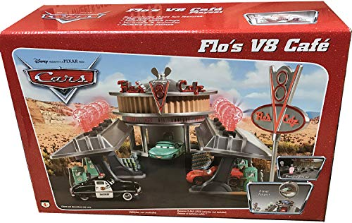 (Cars Flo's V8 Cafe Play Set from Pixar)