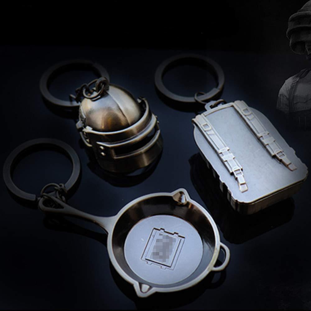 Amazon.com: Hebensi - 4 llaveros de metal con mochila de ...