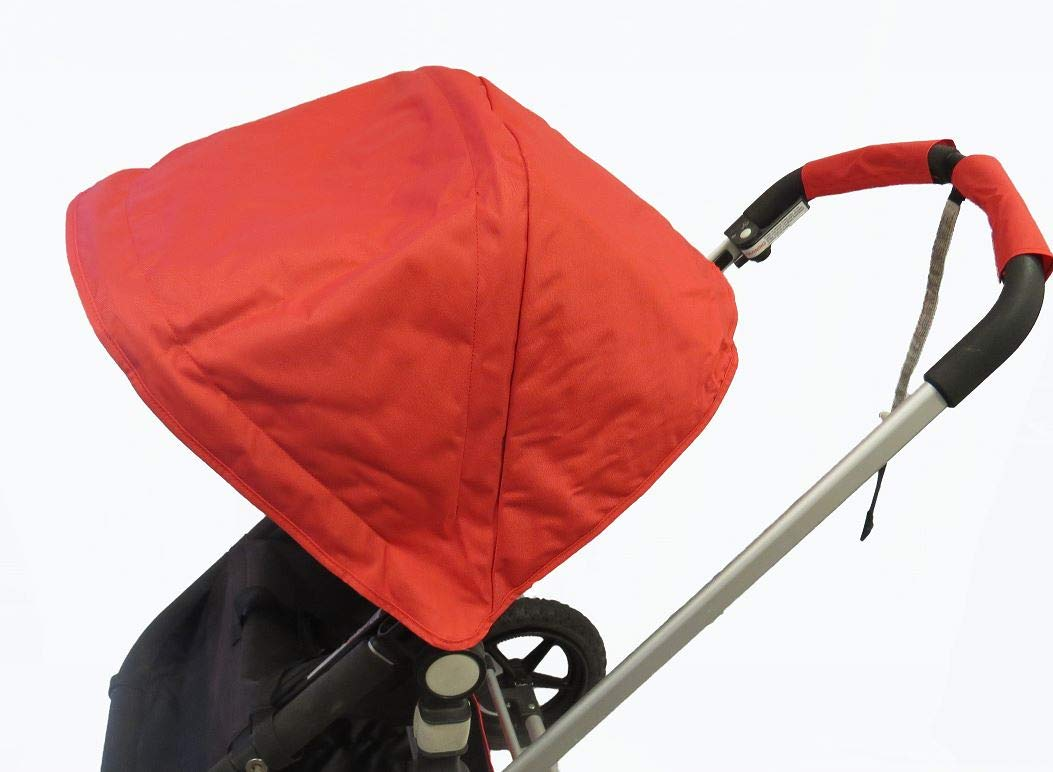 Red Canopy Sun Shade Cover Wires for Bugaboo Cameleon 1 2 3 Frog Baby Strollers