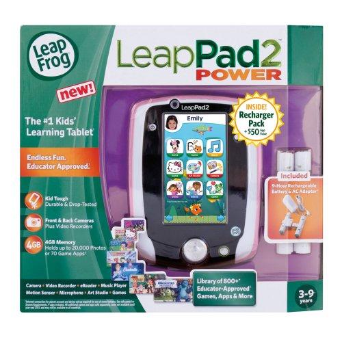 LeapFrog LeapPad2 Power Learning Tablet, Pink by LeapFrog (Image #4)
