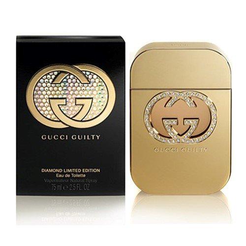 Gûcci Guilty Diamond Limited Edition Eau De Toilette Spray For Women 2.5 FL. OZ./75 ml
