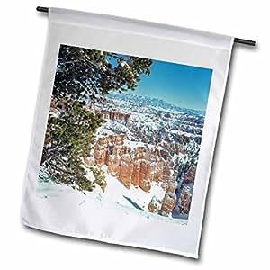 Danita Delimont - Utah - Utah, Bryce Canyon National Park, hoodoos - US45 RER0094 - Ric Ergenbright - 18 x 27 inch Garden Flag (fl_94864_2)