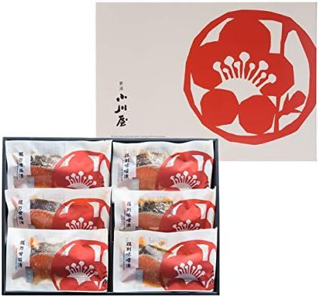 味くらべ(6袋セット)SAJ3〔越乃甘粕漬さけ×3・復刻味噌漬さけ×3〕