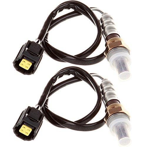 ECCPP Oxygen 02 Sensor Upstream Downstream Fits 234-4881 for 2008-2010 Chrysler Sebring Dodge Avenger 2.4L 2PCS -