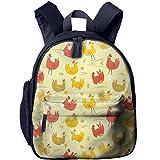 Cute Chicken Cute Fashion School Backpack Bookbag School Bag Lightweight Durable Insulated Shoulder Bag Kids Student Bag For Pre School Children/Toddler