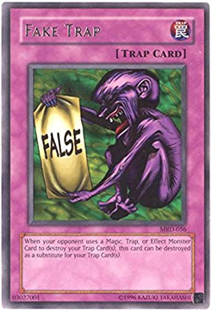 amazon com yu gi oh fake trap mrd 056 metal raiders