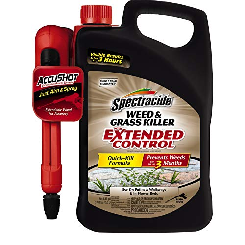 Weed and Grass Killer With Extended Control Accushot Sprayer