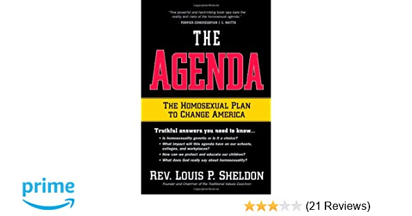 The homosexual agenda book