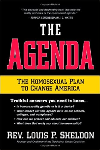 Homosexual agenda destroying america