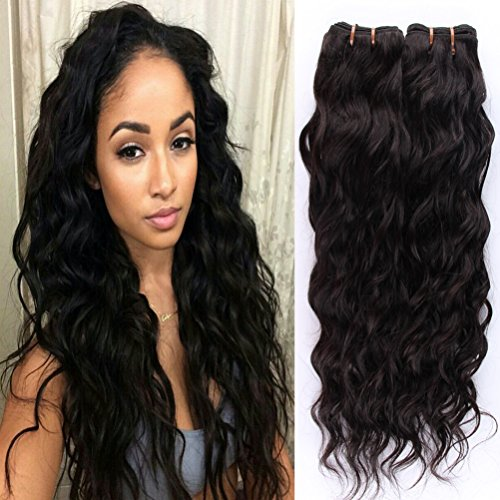 Natural Wave Brazilian Virgin Hair Brazilian Water Wave B...