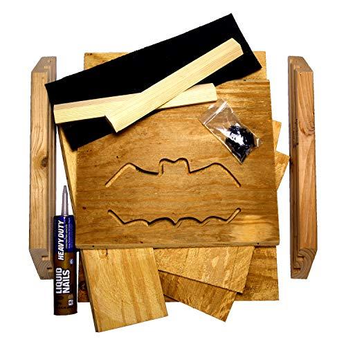 Bat Conservation and Management 3-Chamber Bat House Kit | DIY | Made in - Kits House Bat