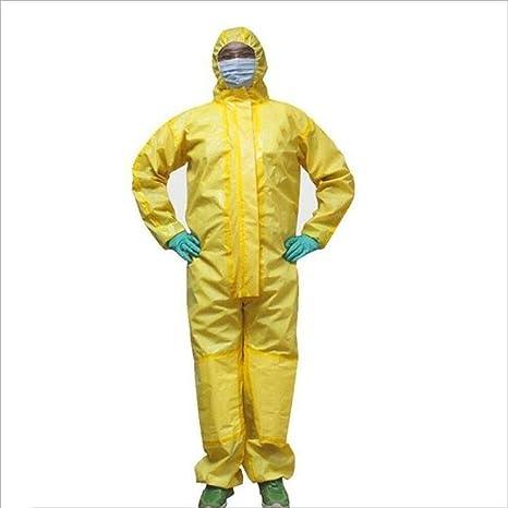 FLYSXP Ropa De Protección Química, con Cubierta, Spray De ...