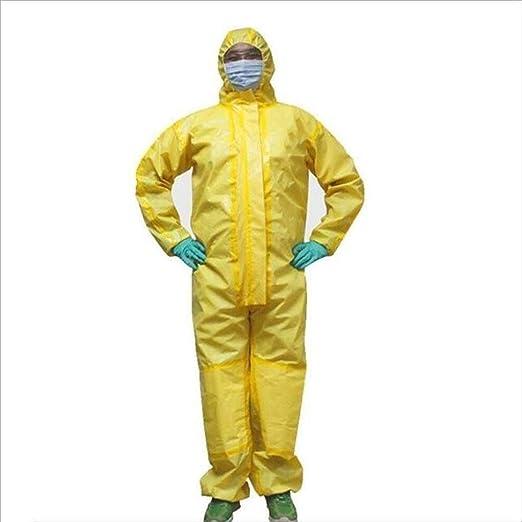 XXHDYR Ropa De Protección Química, con Cubierta, Spray De Base ...