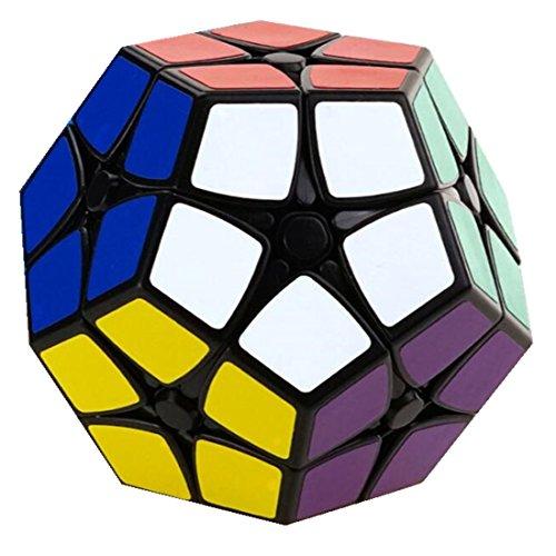 CuberSpeed Shengshou 2x2 Megaminx Black Magic cube SS Megaminx 2x2 Black Speed cube