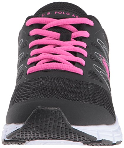 Black Janelle Women's Fuchsia Women's Fashion S Polo Assn U Sneaker XIq8B4Swx