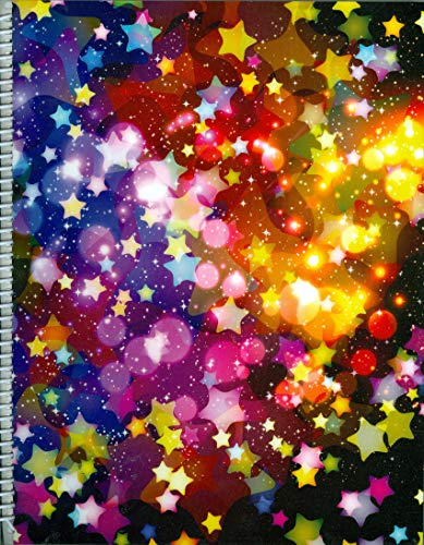 Starry-Starry Sky Large 9x11.25 Re-usable Sticker Album!