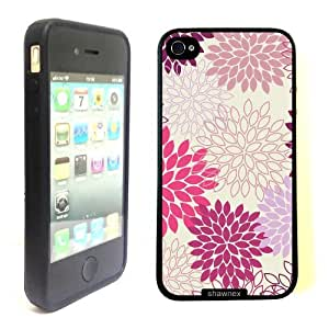 iPhone 4 4S Case ThinShell TPU Case Protective iPhone 4 4S Case Shawnex Hot Pink Floral