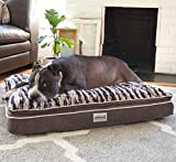 Memory Foam Dog Bed - Simmons Memory Foam Dog Bed Beautyrest - Plush Orthopedic Comfort is Great for Dogs With Arthritis or Joint Problems (Large)