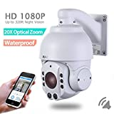 SUNBA 2.0 Megapixel 1080P HD, 4.7~94.0mm, 20X Optical Zoom, IR-Cut Night Vision, PTZ Outdoor IP Security Dome Cameras ONVIF (507-20XB P2P Cloud) Review