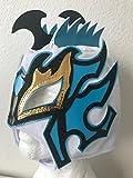 Kalisto lucha dragons kids mask White W/ blue Pentágon jr sin cara mil LUCHA