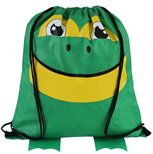Goodie Drawstring Animal Features Cinch