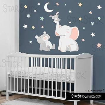 Starstick Wandtattoos Fur Babyzimmer Tiere Durch Antippen Des Luna
