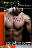 Front cover for the book Force of Law by Jez Morrow