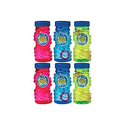 Super Miracle Bubbles | Party Favor | Pack of 6: Toys & Games