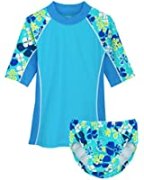 Toddler Boy Girl Swimsuit Kids Two Piece...