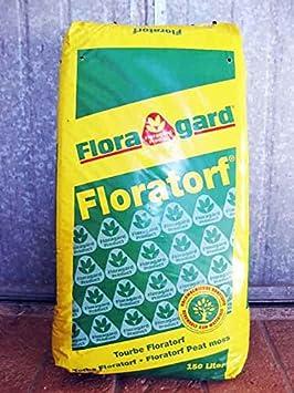 Turba (rubia) ácida de sfagno (Floratorf-) Floragard (36 kg-150 L): Amazon.es: Jardín
