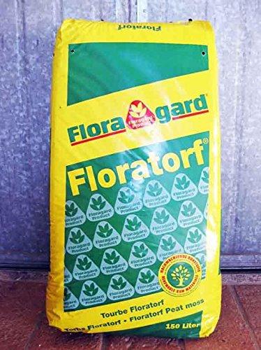 Turba (rubia) ácida de sfagno (Floratorf-) Floragard (36 kg-